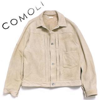 コモリ(COMOLI)のCOMOLI ディアスキン TYPE-1st ジャケット コモリ(レザージャケット)