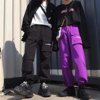 カーゴパンツ ジョガーパンツ ユニセックス 韓国ファッション オルチャン
