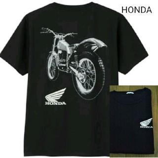 ホンダ - HONDAバイク柄GU黒Tシャツ