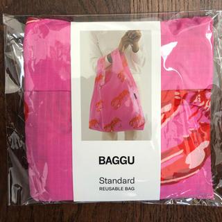 BEAMS - BAGGU スタンダード ピンク ロブスター バッグ 新品