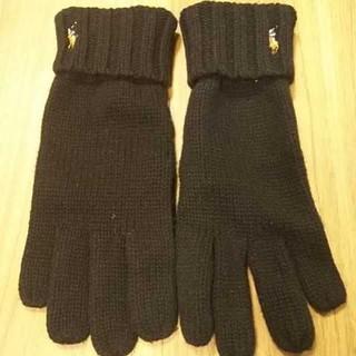 ポロラルフローレン(POLO RALPH LAUREN)のポロラルフローレン ニット手袋(手袋)