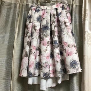 マーキュリーデュオ(MERCURYDUO)の花柄スカート♡(ひざ丈スカート)
