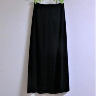 ワイズ(Y's)のヨウジヤマモト Y'sワイズ ■ウールギャバ ロング丈105cmスカート(ロングスカート)