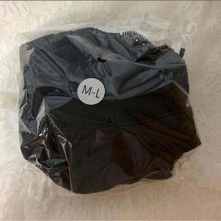 ふんわりルームブラ ブラック M-L