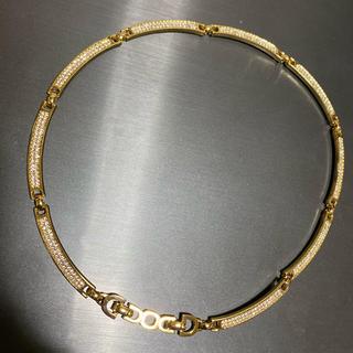 Christian Dior - クリスチャン ディオール ネックレス DIOR ゴールド 美品
