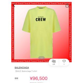 バレンシアガ(Balenciaga)のBALENCIAGA CREWTシャツ(Tシャツ(半袖/袖なし))