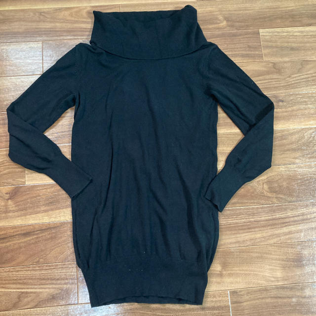 DOUBLE STANDARD CLOTHING(ダブルスタンダードクロージング)のダブスタ タートルロングニット レディースのトップス(ニット/セーター)の商品写真