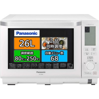 Panasonic - 【新品・未使用】Panasonic スチームオーブンレンジ NE-BS606-W
