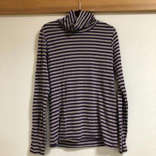 アッシュペーフランス(H.P.FRANCE)のventfee ボーダータートル長袖Tシャツ(Tシャツ(長袖/七分))