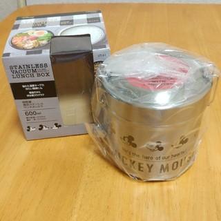 ミッキーマウス(ミッキーマウス)のミッキー柄超軽量真空ステンレスランチボックス(弁当用品)