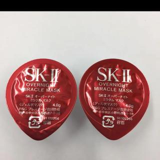 エスケーツー(SK-II)のオーバーナイトミラクルマスク 2個(パック/フェイスマスク)