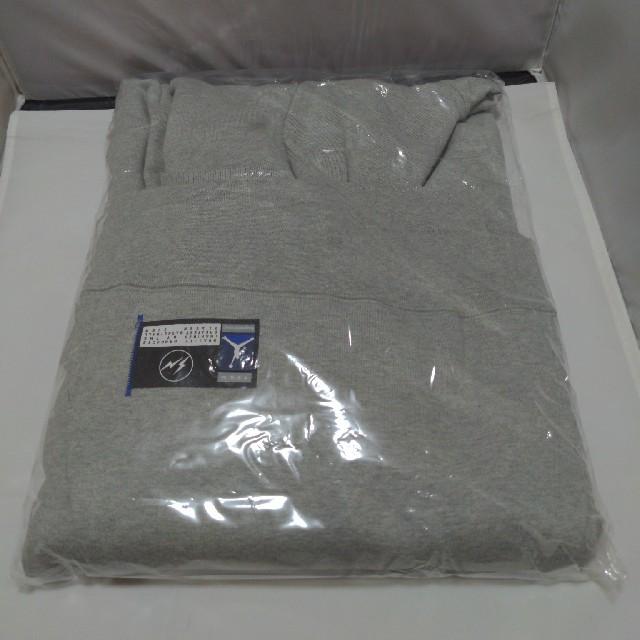 NIKE(ナイキ)のNIKE fragment プルオーバーパーカー グレイ XLサイズ メンズのトップス(パーカー)の商品写真