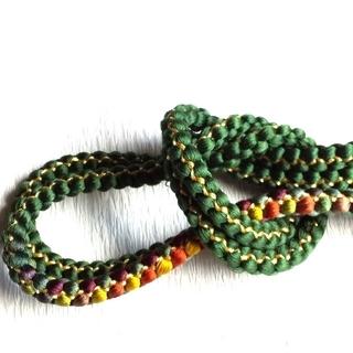 新品 帯締め 正絹 金糸使い 振袖 訪問着(和装小物)