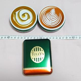 タリーズコーヒー(TULLY'S COFFEE)のキャンディ缶☆タリーズ(小物入れ)