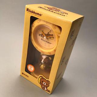 サンエックス - リラックマ 振り子時計 黄