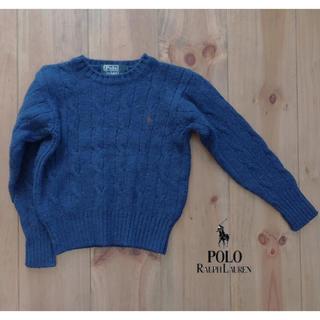 ポロラルフローレン(POLO RALPH LAUREN)のラルフローレン ニット セーター 110cm(ニット)