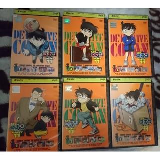 ショウガクカン(小学館)の名探偵コナン part11 DVD 6本。(アニメ)