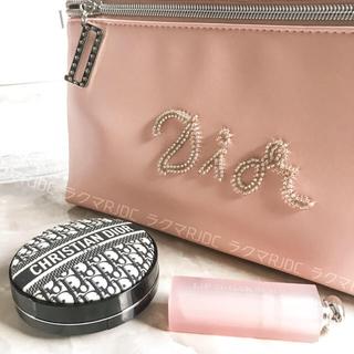 Christian Dior - 【新品未使用】ディオール スムースレザー調 クラッチバッグ トラベルポーチ 限定