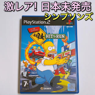 PlayStation2 - ザ・シンプソンズ ヒット&ラン PS2 美品! 輸入版 ソフト 日本未発売