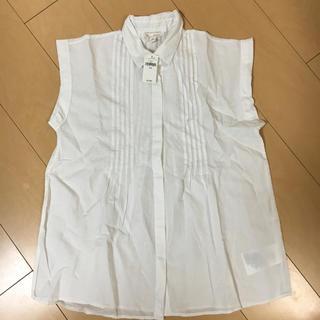 ギャップ(GAP)のコットンリネンシャツ(シャツ/ブラウス(半袖/袖なし))