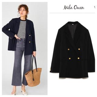 ミラオーウェン(Mila Owen)のダブルブレザー(テーラードジャケット)