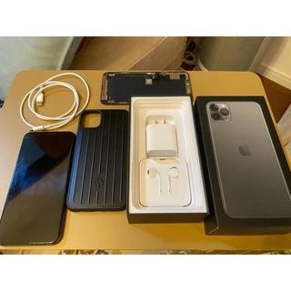 アイフォーン(iPhone)のiphone 11 pro max 256GB  RIMOWAケース付き(スマートフォン本体)