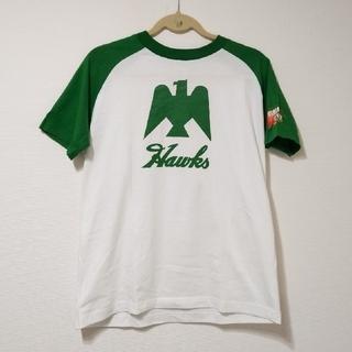 福岡ソフトバンクホークス - 南海ホークス★USED★フリーサイズTシャツ
