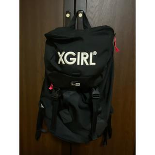 エックスガール(X-girl)のxgirl × newera(リュック/バックパック)