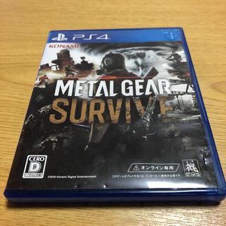 プレイステーション4(PlayStation4)の【送料込み】メタルギアサバイブ (家庭用ゲームソフト)