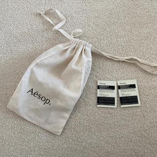 イソップ(Aesop)のイソップ  巾着とサンプル(ショップ袋)