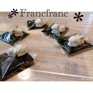 Francfranc - ⭐️フランフランアニマル箸置き⭐️5点セット🍀約半額です❣️