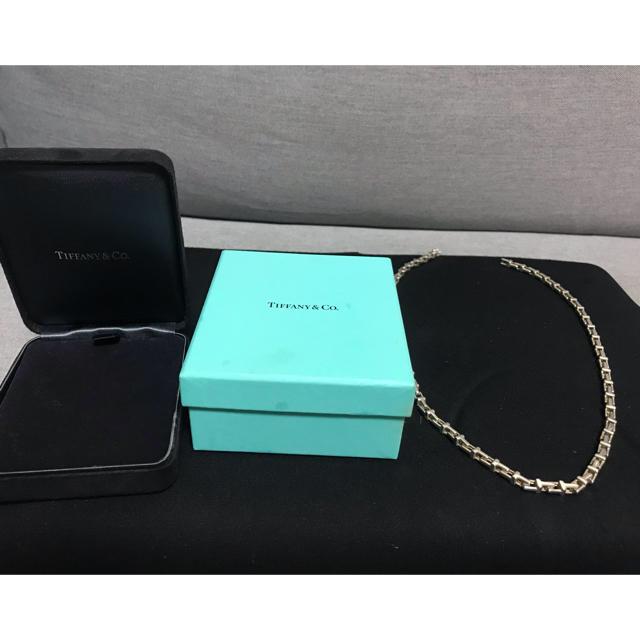 Tiffany & Co.(ティファニー)のtiffany tチェーンネックレス メンズのアクセサリー(ネックレス)の商品写真