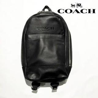 コーチ(COACH)のCOACH コーチ リュック レザー バックパック 美品 未使用(バッグパック/リュック)