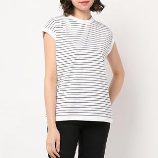 ユナイテッドアローズ(UNITED ARROWS)のハンドバーク クルーネック スリーブレスTシャツ(Tシャツ(半袖/袖なし))
