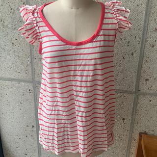 ジューシークチュール(Juicy Couture)のジューシークチュール ボーダー Tシャツ フリル(Tシャツ(半袖/袖なし))