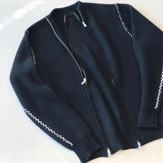 ALLEGE - ALLEGE zip knit