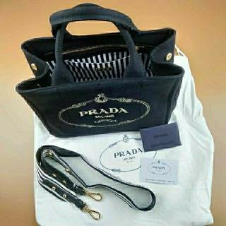 PRADA - Pradaプラダ カナパ  ハンドバッグ ブラック