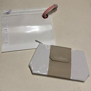 クラランス(CLARINS)のクラランス  ノベルティ ポーチ 2個セット 非売品(ポーチ)