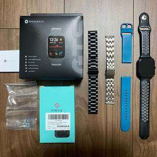 Xiaomi Amazfit GTS ブラック グローバルモデル (腕時計(デジタル))
