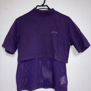 ジョンローレンスサリバン(JOHN LAWRENCE SULLIVAN)の19SS  JOHN LAWRENCE SULLIVAN レイヤードTシャツ(Tシャツ/カットソー(半袖/袖なし))