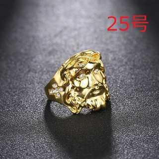 高級感あり ジーザス イエス キリスト リング 指輪 数量限定 25号(リング(指輪))