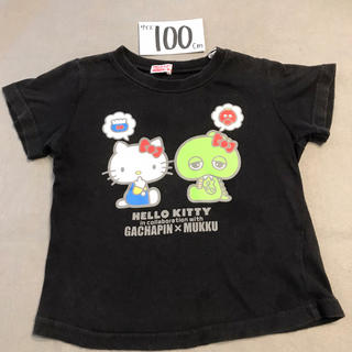 サンリオ(サンリオ)の100 ガチャピン キティ コラボTシャツ(Tシャツ/カットソー)