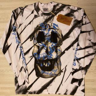 テンダーロイン(TENDERLOIN)の人気品! TENDERLOIN 長袖 Tシャツ ロンT ダリ ホワイト 白 XL(Tシャツ/カットソー(七分/長袖))