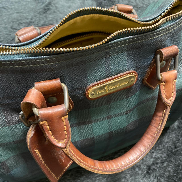 POLO RALPH LAUREN(ポロラルフローレン)のRalph Lauren ミニボストン  最終お値下 レディースのバッグ(ハンドバッグ)の商品写真