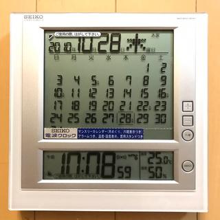 セイコー(SEIKO)の電波置時計 SEIKO SQ422W(置時計)