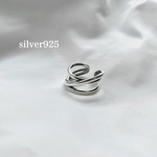 BEAUTY&YOUTH UNITED ARROWS - silver925  重ねリング