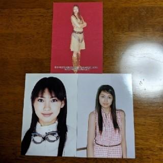 モーニングムスメ(モーニング娘。)の飯田圭織 生写真 ブロマイド 3枚セット モーニング娘。(アイドルグッズ)