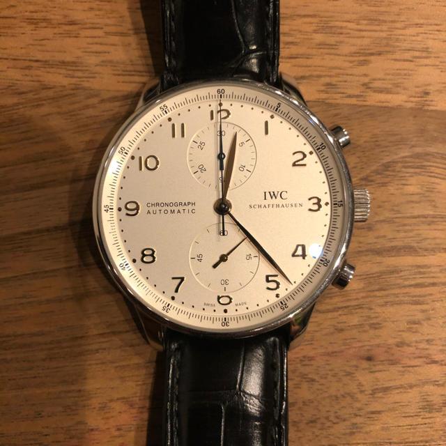 IWC(インターナショナルウォッチカンパニー)のIWC  ポルトギーゼ   371401 メンズの時計(腕時計(アナログ))の商品写真