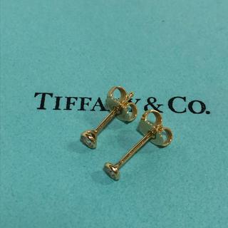 ティファニー(Tiffany & Co.)のお値下げ不可!ティファニー バイザヤード ダイヤモンドピアス 750YG(ピアス)