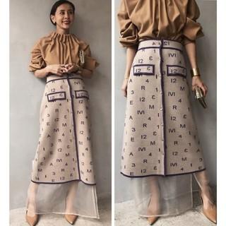 Ameri VINTAGE - Ameri vintage パスコードニットスカート